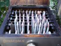 paling roken in mijn RVS rookoven