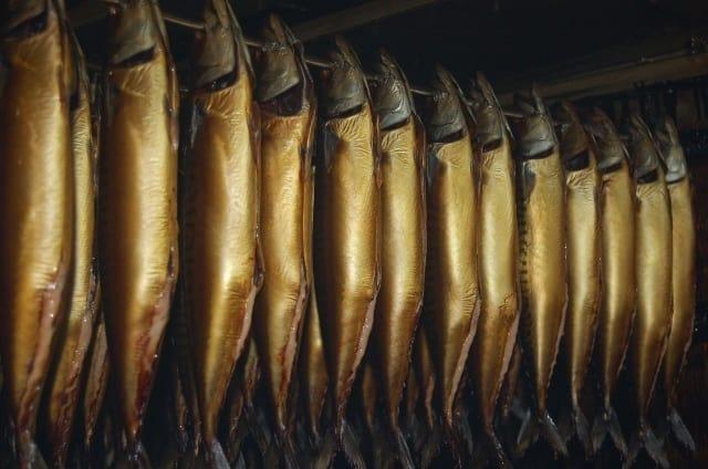 gerookte makrelen