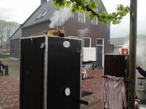 Vollenhove 2013 rook uit de schoorsteen